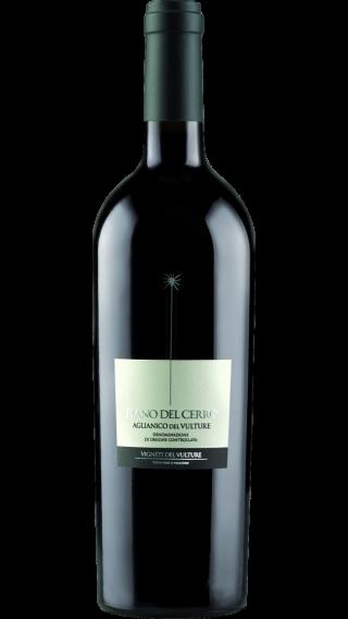 Bottle of Vigneti del Vulture Piano del Cerro Aglianico 2016 wine 750 ml