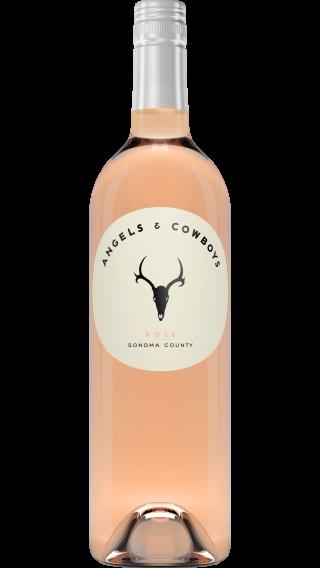 Bottle of Angels & Cowboys Rose 2017 wine 750 ml