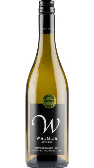 Bottle of Waimea Sauvignon Blanc 2018 wine 750 ml