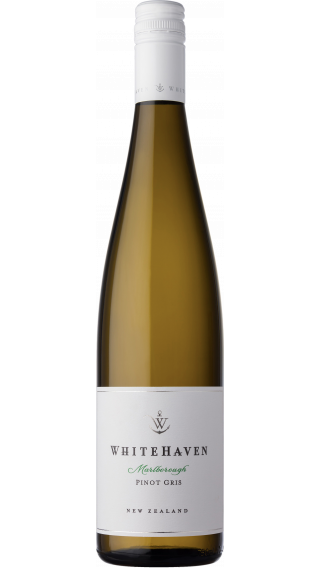 Bottle of Whitehaven Pinot Gris 2017 wine 750 ml