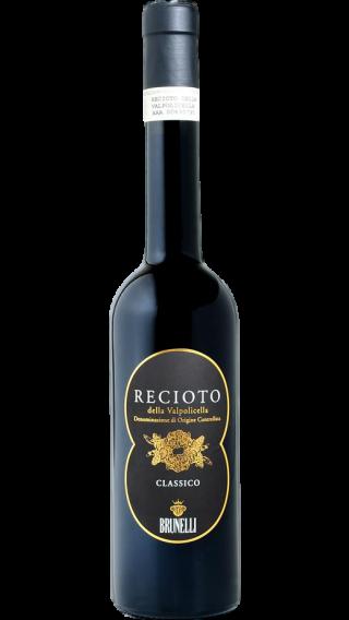 Bottle of Brunelli Recioto Della Valpolicella 2018 wine 500 ml