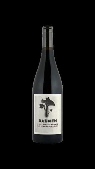 Bottle of Jean Paul Daumen Chateauneuf du Pape 2014 wine 750 ml