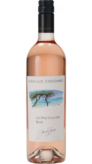 Bottle of Jean-Luc Colombo Les Pins Couches Rose 2017 wine 750 ml