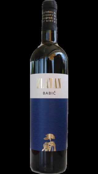 Bottle of Zlatan Otok Babic 2013 wine 750 ml