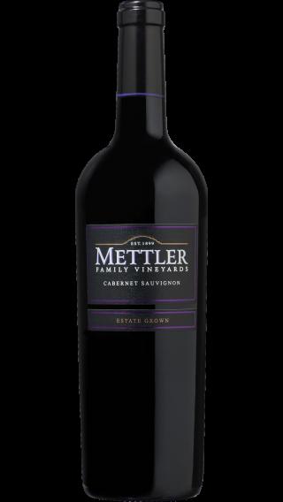 Bottle of Mettler Cabernet Sauvignon 2016 wine 750 ml