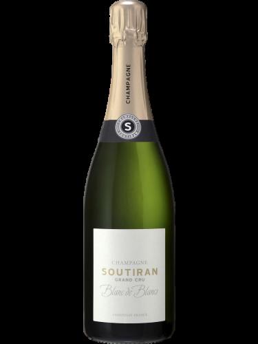 Champagne Soutiran Blanc de Blancs Brut Grand Cru