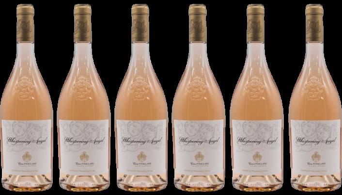 Bottle of Whispering Angel 2019 6 Bottle Case wine 0 ml