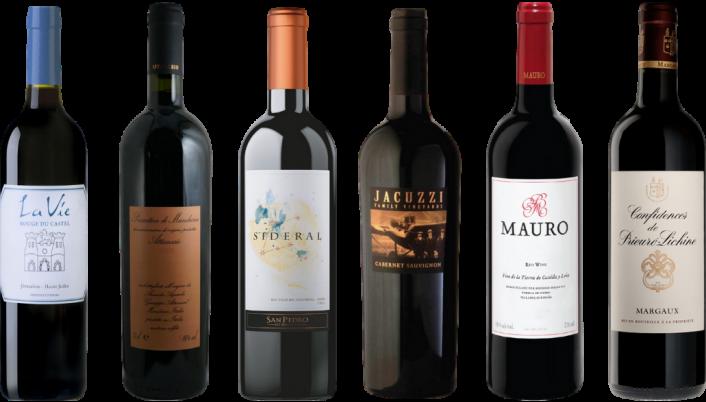 Bottle of 8Wines Staff Picks Red Wine Tasting Case wine 0 ml