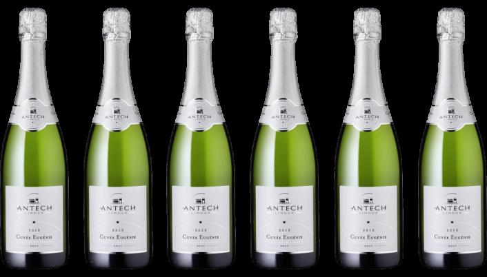 Bottle of Antech Cuvee Eugenie Cremant de Limoux 2018 Case wine 0 ml