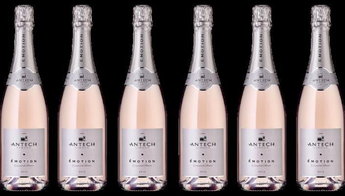 Bottle of Antech Emotion Cremant de Limoux Rose 2018 6 Bottle Case  wine 0 ml