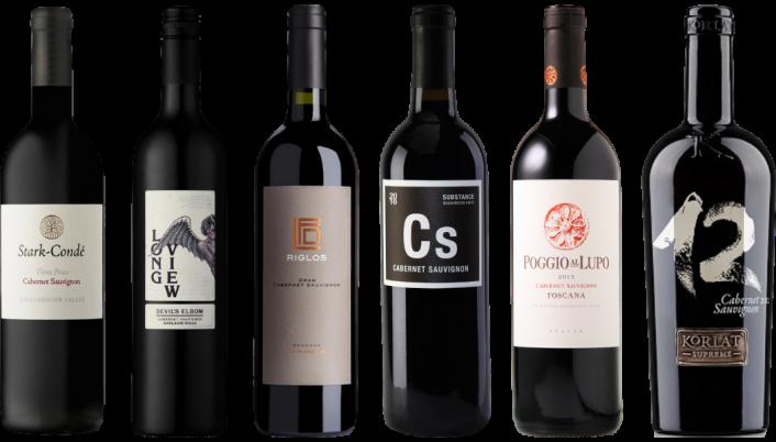 Bottle of Around the World Cabernet Sauvignon Tasting Case wine 0 ml