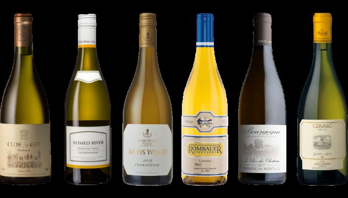 Bottle of Around the World Chardonnay Premium Tasting Case wine 0 ml