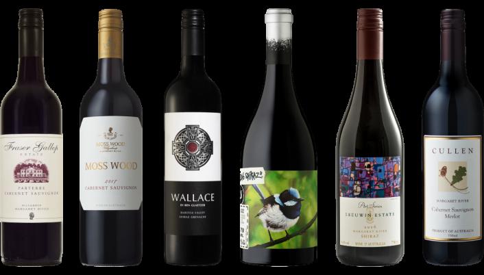 Bottle of Australian Red Wine Premium Tasting Case wine 0 ml