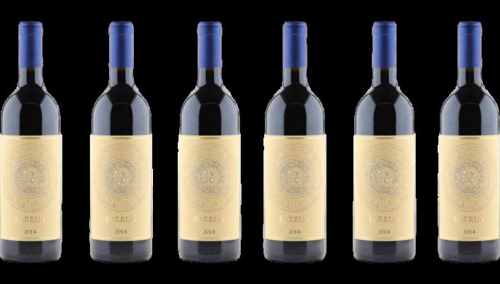 Bottle of Agricola Punica Barrua 2016 Case wine 0 ml