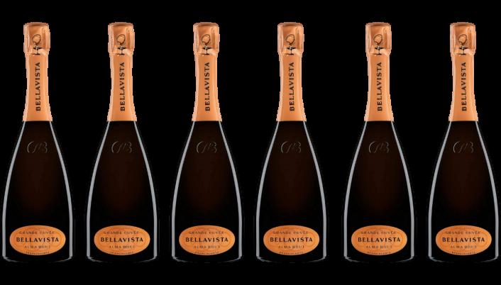 Bottle of Bellavista Franciacorta Alma Gran Cuvee Brut Case wine 0 ml