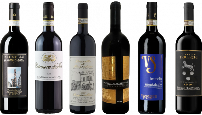 Bottle of Brunello di Montalcino Premium Tasting Case wine 0 ml