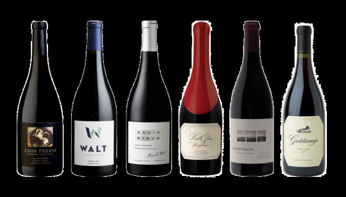 Bottle of California Pinot Noir Premium Tasting Case wine 0 ml