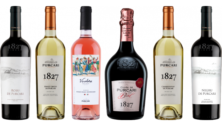 Bottle of Chateau Purcari Moldovan Wine Tasting Case wine 0 ml