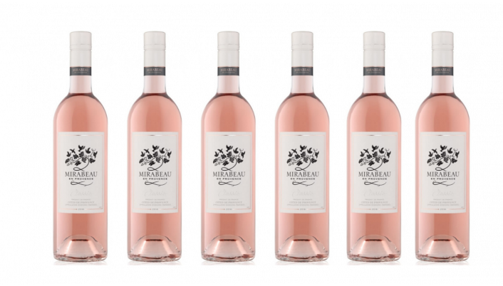Bottle of Mirabeau Classic Provence Rose 2019 6 Bottle Case wine 0 ml