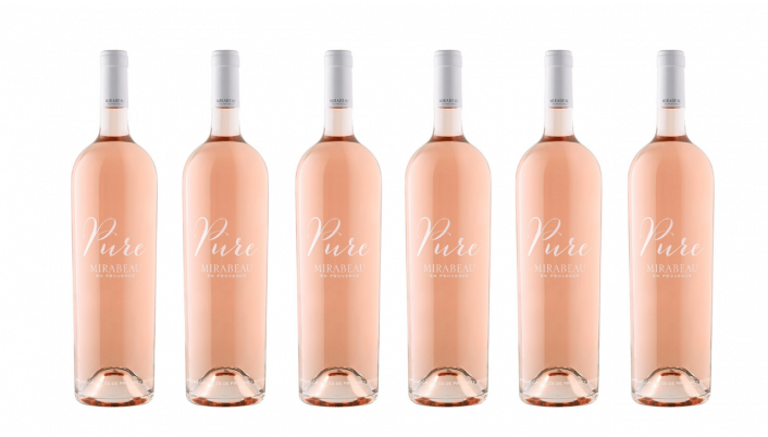 Bottle of Mirabeau Pure Provence Rose 2020 6 Bottle Case wine 0 ml