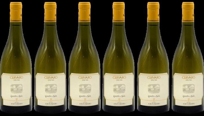 Bottle of Antinori Cervaro della Sala 2018 6 Bottle Case wine 0 ml