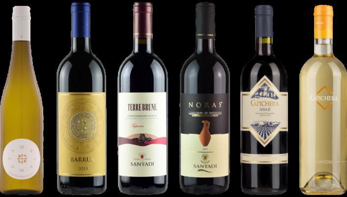 Bottle of Sardinia Wine Tasting Case wine 0 ml
