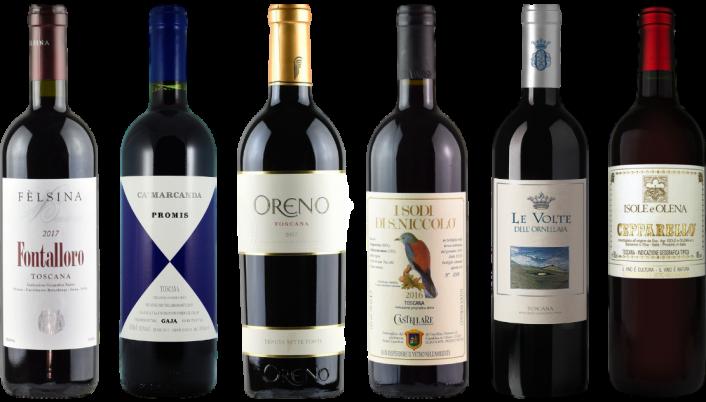 Bottle of Super Tuscan Tasting Case wine 0 ml