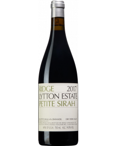 Ridge Lytton Estate Petite Sirah 2017