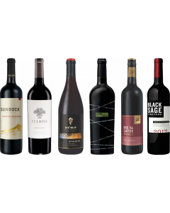 Canadian British Columbia Red Wine Tasting Case
