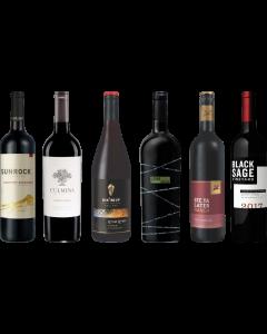Canadian British Columbia Red Wine Tasting Case