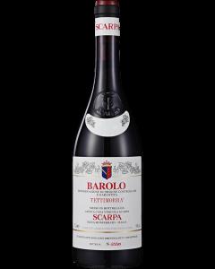 Scarpa Tettimorra Barolo 2012