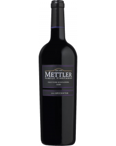 Mettler Old Vine Zinfandel 2016