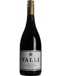 Valli Waitaki Vineyard Pinot Noir 2018