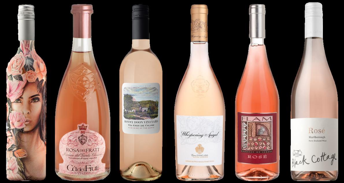 Bottle of Around the World Rose Tasting Case  wine 0 ml