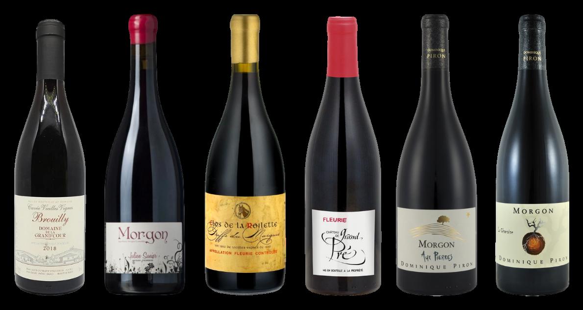 Bottle of Beaujolais Premium Tasting Case wine 0 ml