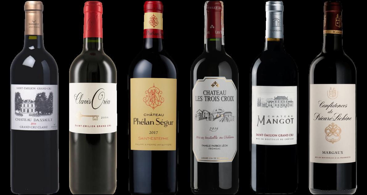 Bottle of Bordeaux Red Tasting Case wine 0 ml