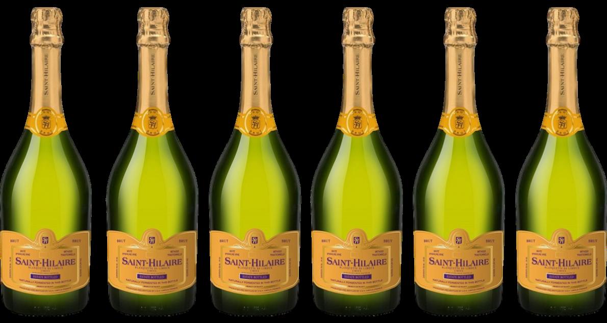Bottle of Saint Hilaire Blanquette de Limoux 6 Bottle Case wine 0 ml