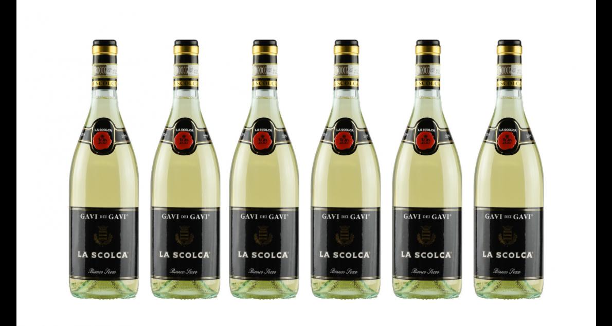 Bottle of La Scolca Gavi dei Gavi 2019 Case wine 0 ml