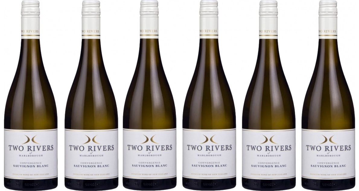 Bottle of Two Rivers Convergence Sauvignon Blanc 2018 Case wine 0 ml