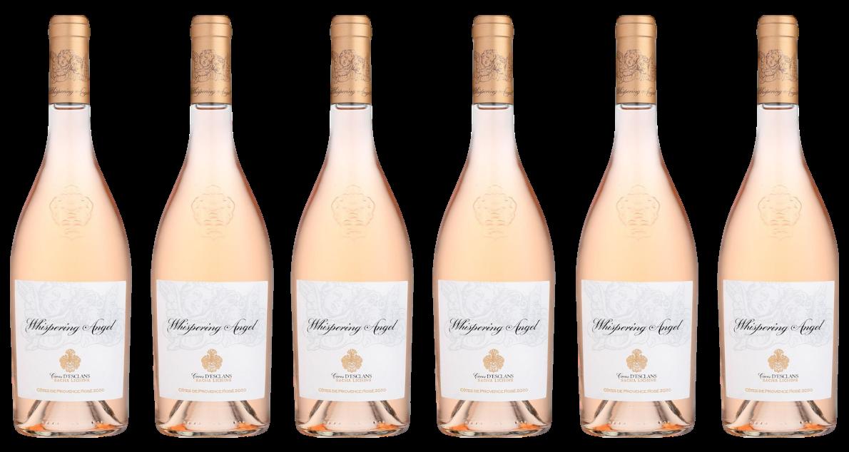 Bottle of Whispering Angel 2020 6 Bottle Case wine 0 ml