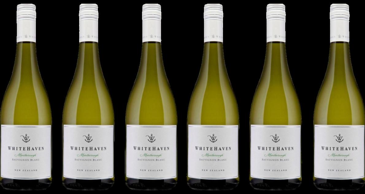 Bottle of Whitehaven Sauvignon Blanc 2019 6 Bottle Case wine 0 ml